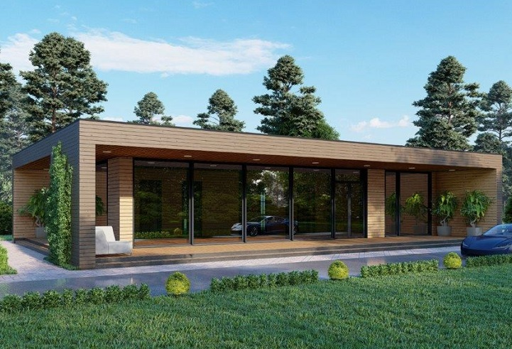 Casa Prefabbricata 156- 48.200.-€ + iva